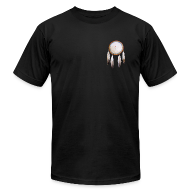 T-Shirts ~ Men's T-Shirt by American Apparel ~ Rainbow Shield Pocket T-shirt
