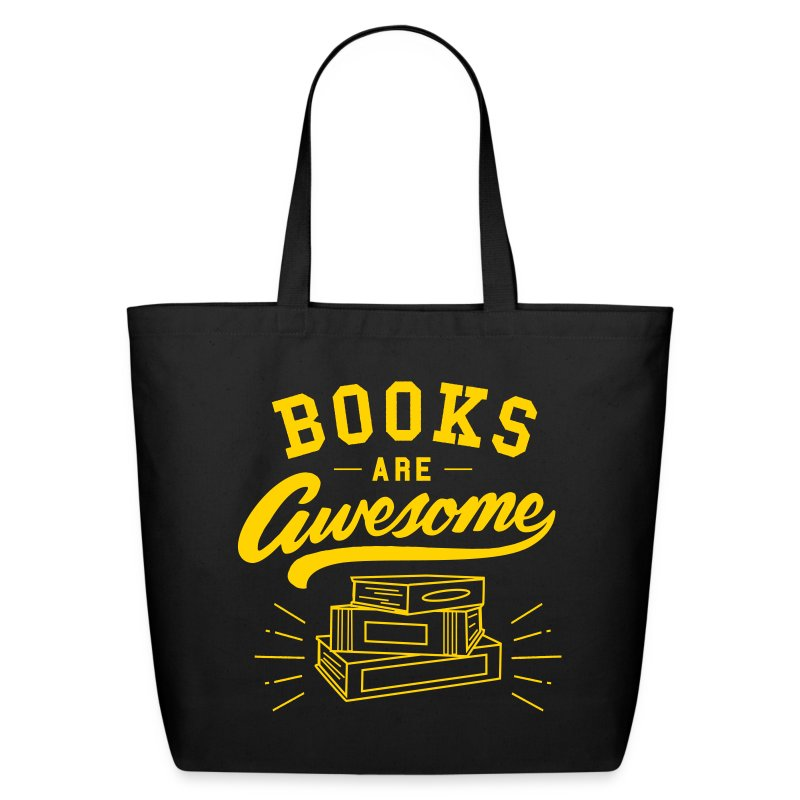 Books Are Awesome - Eco-Friendly Cotton Tote