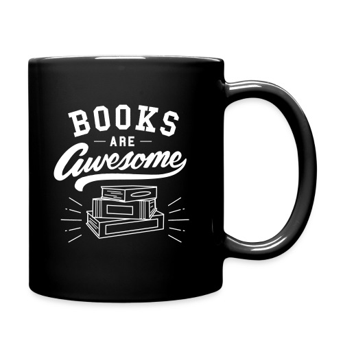 Books Are Awesome Mug - Full Color Mug