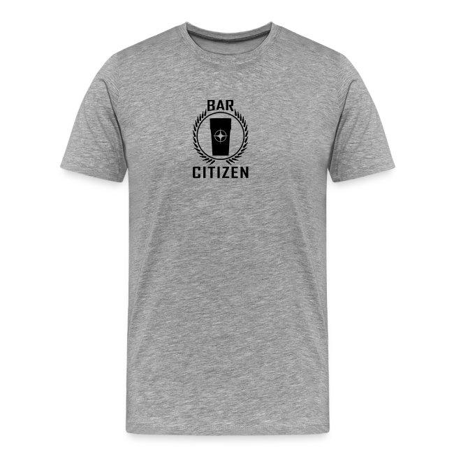 Bar Citizen T-Shirt (Black Logo)