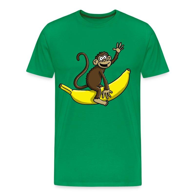 bananen affe 112015 b t shirt spreadshirt. Black Bedroom Furniture Sets. Home Design Ideas