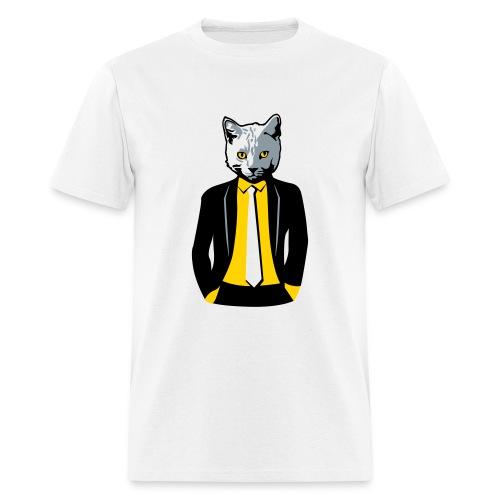 business cat unisex - Men's T-Shirt