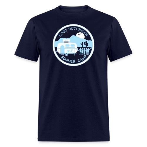 Men's Tshirt - white/babyblue - Men's T-Shirt