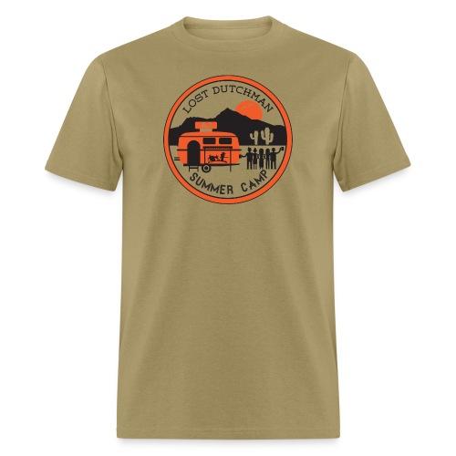 Men's Tshirt - orange/black - Men's T-Shirt