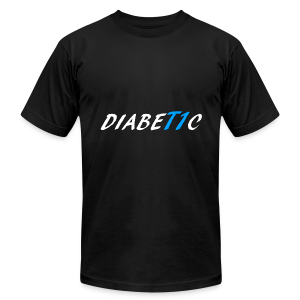 DiabeT1c - Men's T-Shirt by American Apparel
