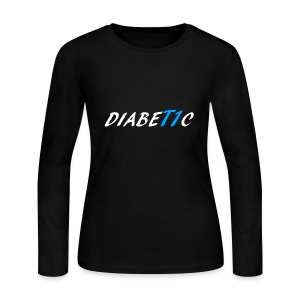 DiabeT1c - Women's Long Sleeve Jersey T-Shirt