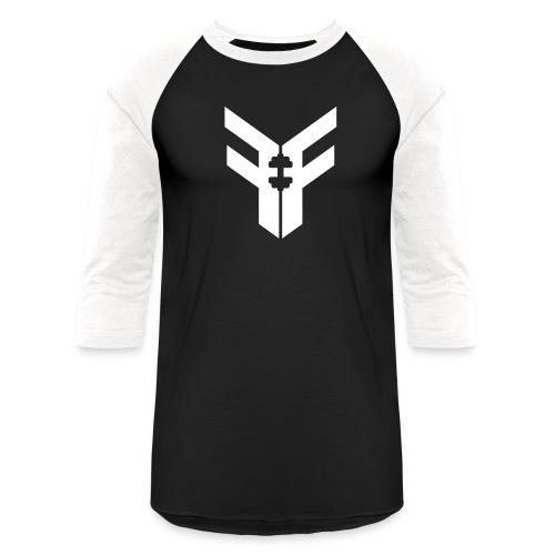 Men's Baseball Tee (Black/White) - Baseball T-Shirt