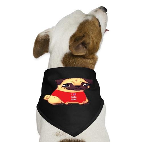Pugs Love Ham & Bacon by Marissa Saria - Dog Bandana