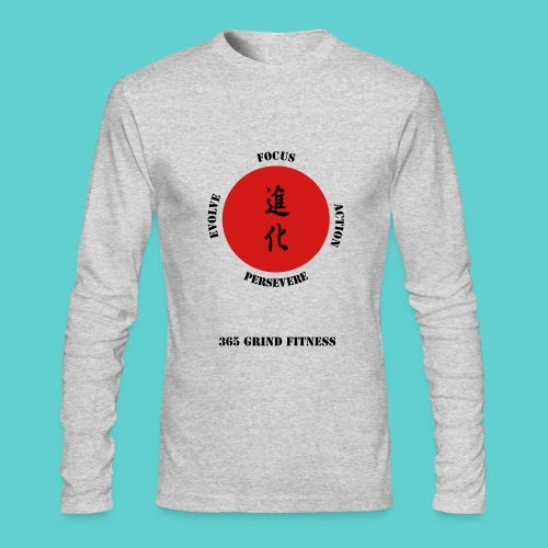 Men's Long-sleeve Power Driven shirt - Men's Long Sleeve T-Shirt by Next Level