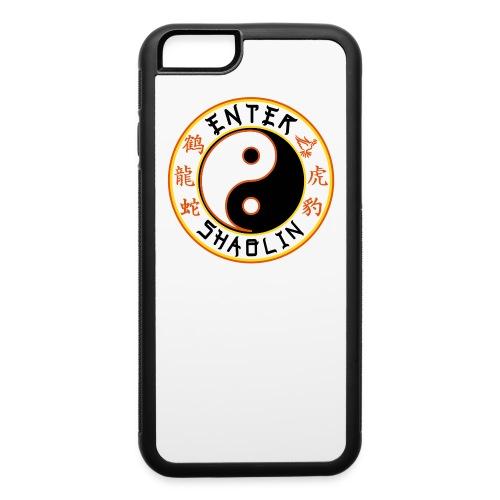 Enter Shaolin Iphone 6 Rubber Protective Case (Main Logo) - iPhone 6/6s Rubber Case