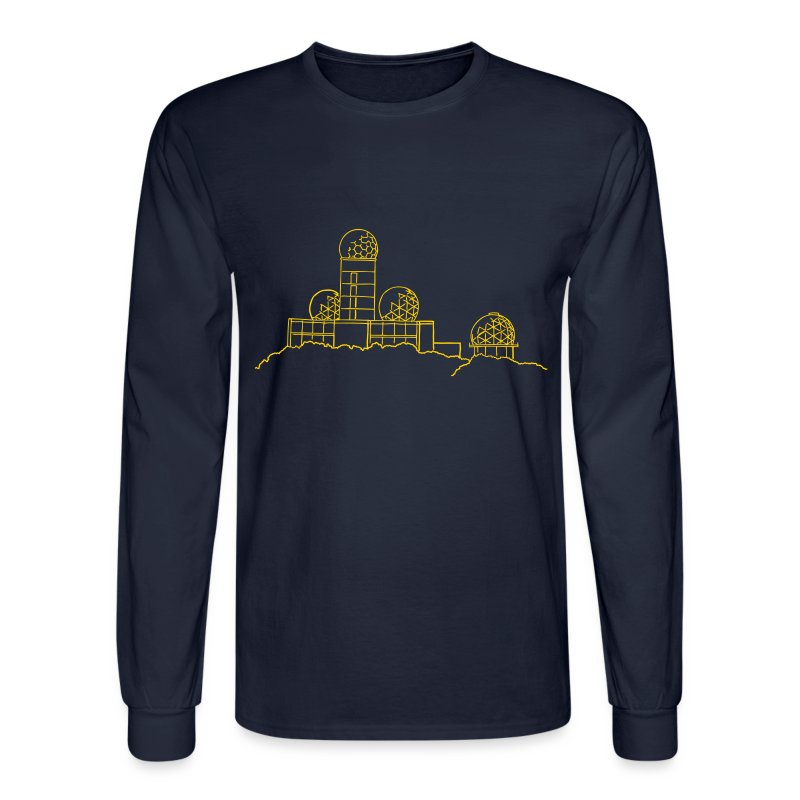 Listening station on Teufelsberg - Men's Long Sleeve T-Shirt