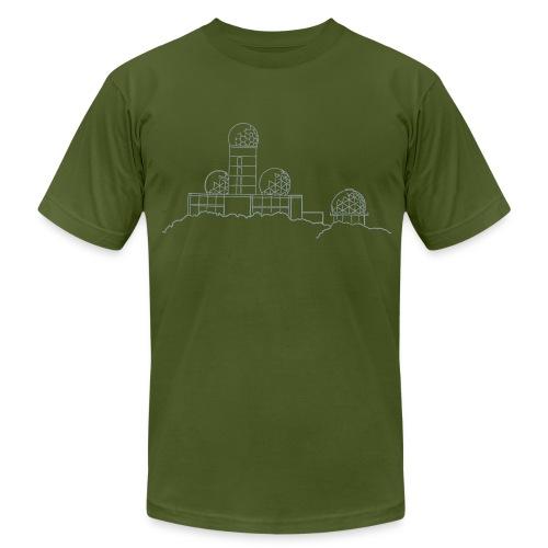 Listening station on Teufelsberg - Men's Fine Jersey T-Shirt
