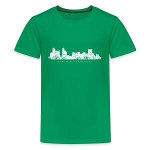 Memphis, Tennessee Skyline T-Shirt (Children/Green) - Kids' Premium T-Shirt