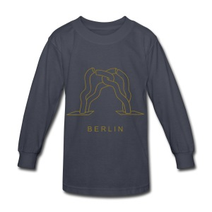 Berlin sculpture near Kurfürstendamm - Kids' Long Sleeve T-Shirt