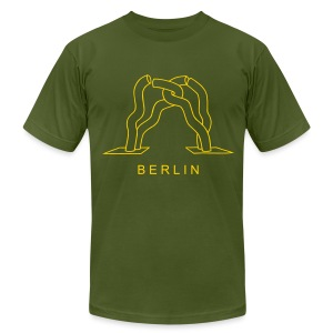 Berlin sculpture near Kurfürstendamm - Men's T-Shirt by American Apparel