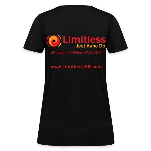 Womens Limitless JKD Black T-Shirt - Women's T-Shirt