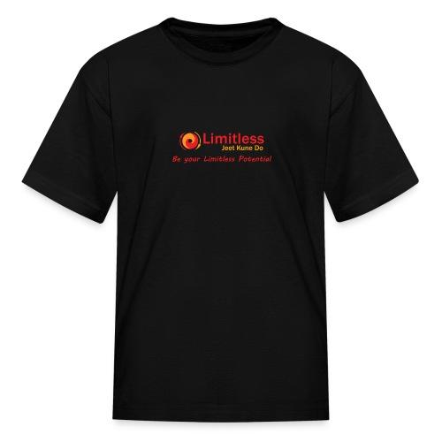 Kids Limitless JKD Black T-Shirt - Kids' T-Shirt