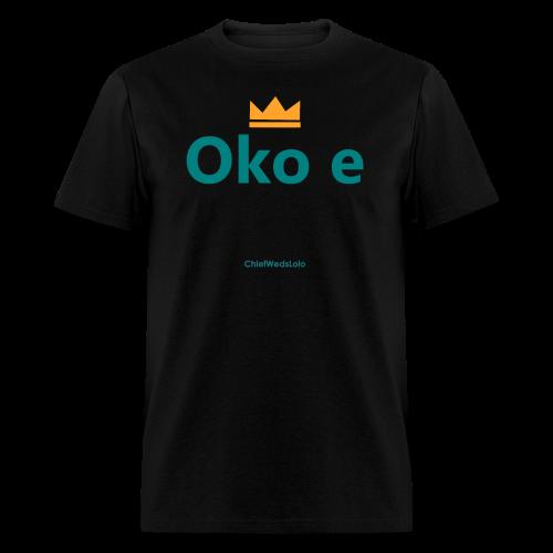 Oko e Her Hubby Yoruba Tee  - Men's T-Shirt