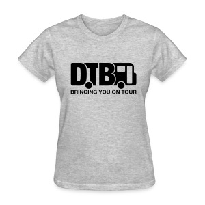 Digital Tour Bus Women's T-shirt - Black Design - Women's T-Shirt