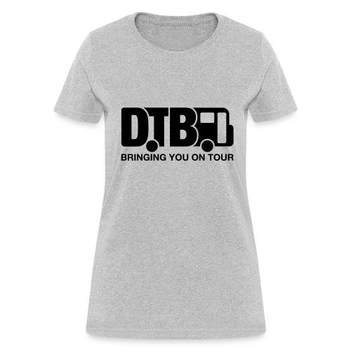 Digital Tour Bus Women's T-shirt - Black Design - Women's T-Shirt