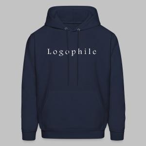 Men's Logophile Hoodie Dark - Men's Hoodie