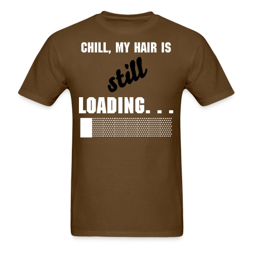 What the Frizz: Loading... - Men's T-Shirt