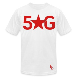 5 star G - Men's T-Shirt by American Apparel