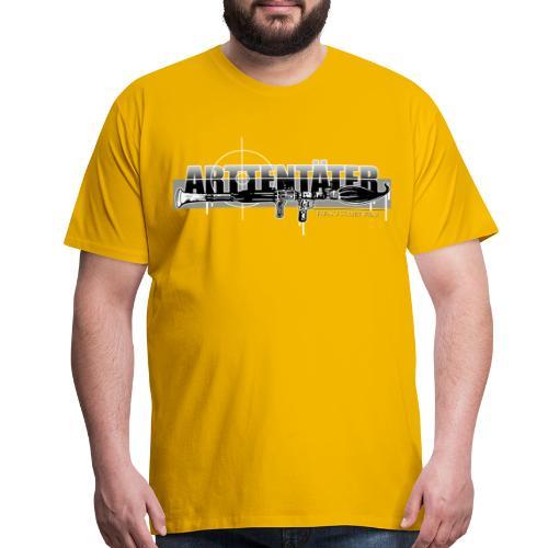 Arttentäter 3 - make art, not war - Men's Premium T-Shirt