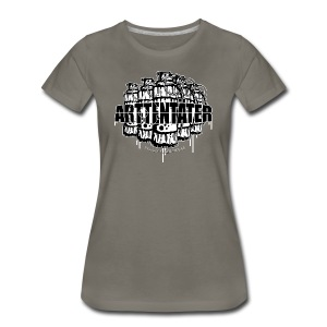 Arttentäter 2 - make art, not war - Women's Premium T-Shirt