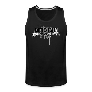 Arttentäter4 - make art, not war - Men's Premium Tank