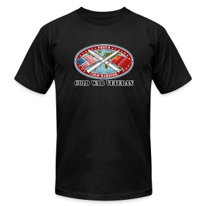 PCW Cold War Veteran (Front) - Men's Fine Jersey T-Shirt