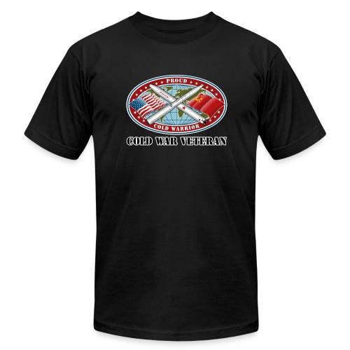 PCW Cold War Veteran (Front) - Men's  Jersey T-Shirt