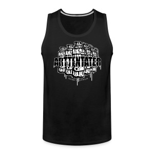 Arttentäter2 - make art, not war - Men's Premium Tank
