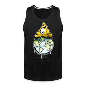 Shit rules the world - Men's Premium Tank