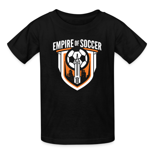EoS: The Shield - Kid's T-Shirt, Black - Kids' T-Shirt