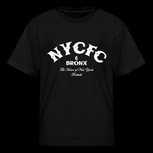 N.Y.C.F.C & Bronx – Kid's T-Shirt, Black - Kids' T-Shirt