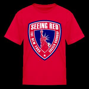 Seeing Red! Logo - Kid's T-Shirt, Red - Kids' T-Shirt
