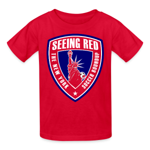 Seeing Red! Logo - Kid's T-Shirt, Red - Kids' T-Shirt
