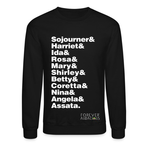 Audacious Women-men - Crewneck Sweatshirt