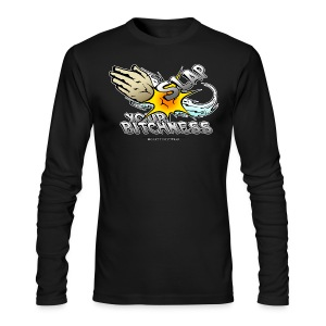 Slap your bitchness - Men's Long Sleeve T-Shirt by Next Level