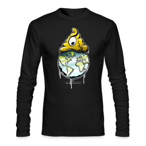 Shit rules the world - Men's Long Sleeve T-Shirt by Next Level