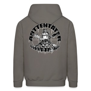 Arttentäter 1 - make art, not war - Men's Hoodie