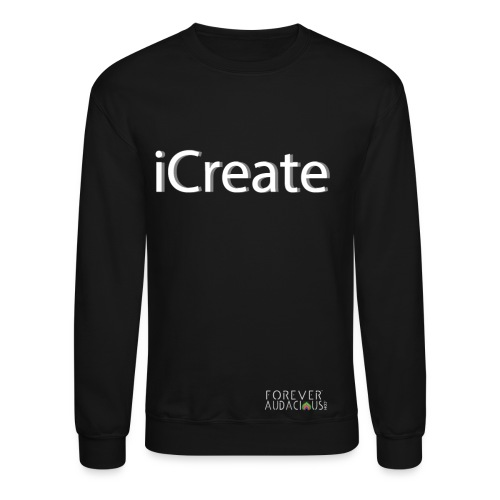 icreate men tee - Crewneck Sweatshirt