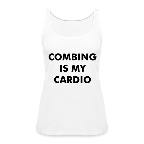 What the Frizz: Cardio - Women's Premium Tank Top