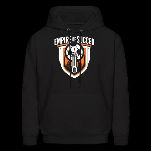 EoS: The Shield - Men's Hoodie, Black - Men's Hoodie