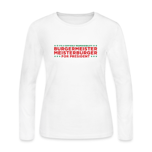 Burgermeister Meisterburger Women's Long Sleeve - Women's Long Sleeve Jersey T-Shirt