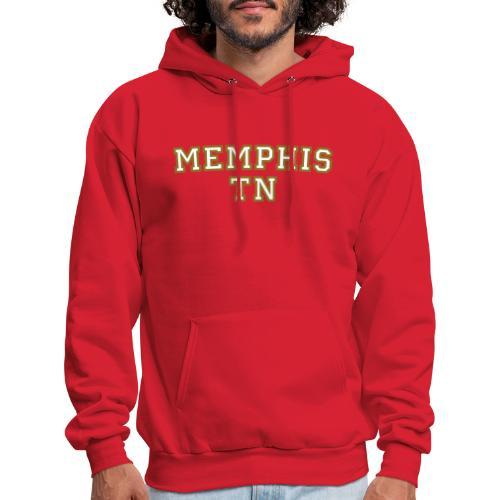 Memphis TN College White/Gold Hoodie - Men's Hoodie