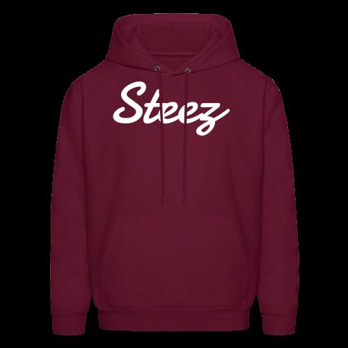Maroon Steez Hoodie - Men's Hoodie
