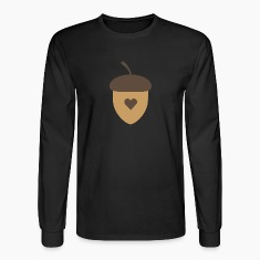 Acorn with heart Long Sleeve Shirts