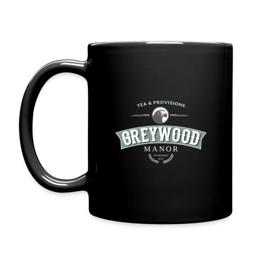 Full Color Mug - Greywood Manor Black coffee mug